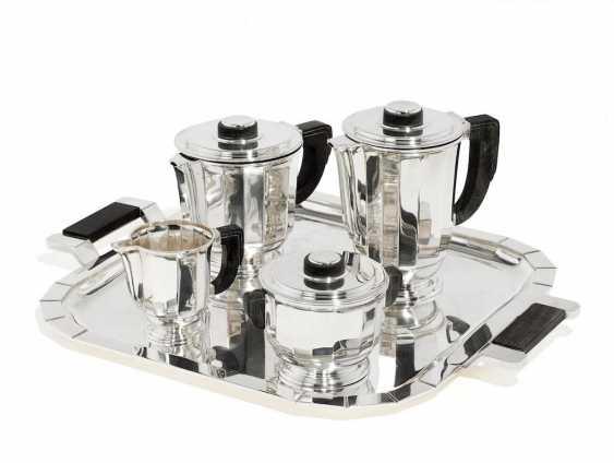 Five-piece Art Deco coffee and tea service - photo 1