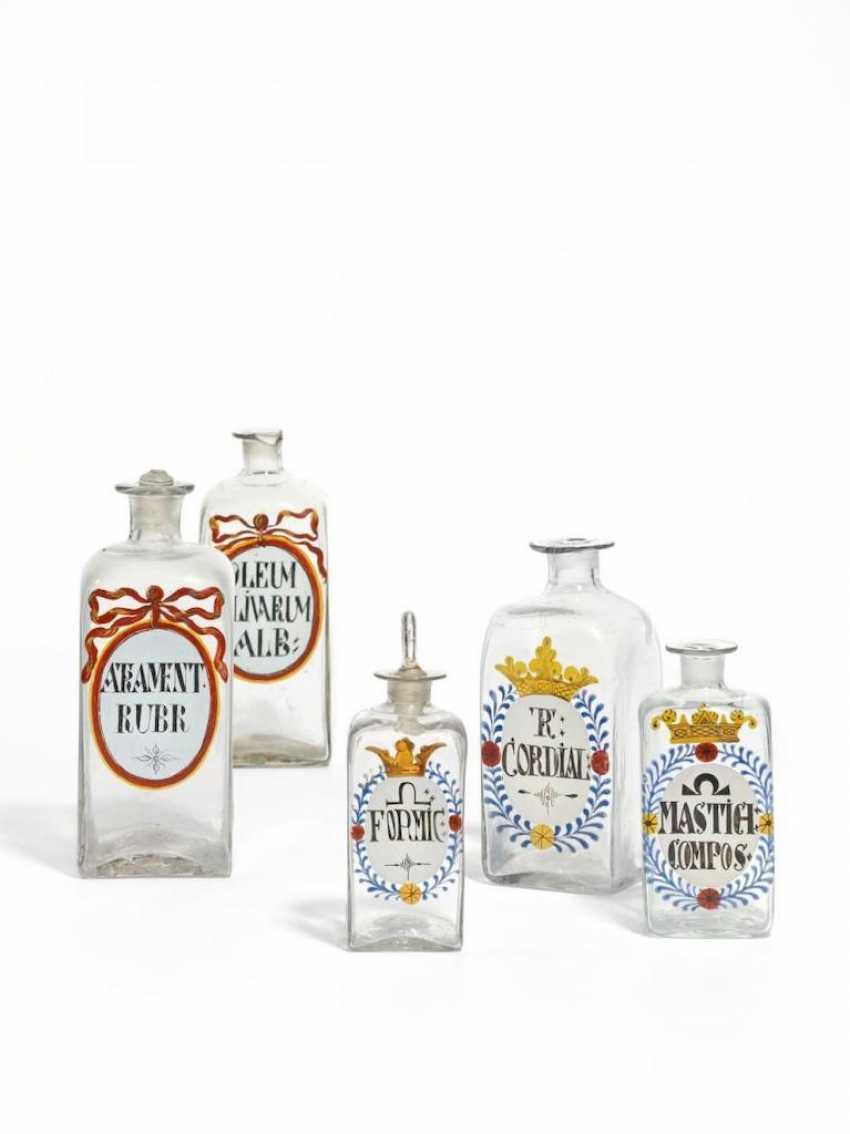 Three Pharmacy Bottles - photo 1
