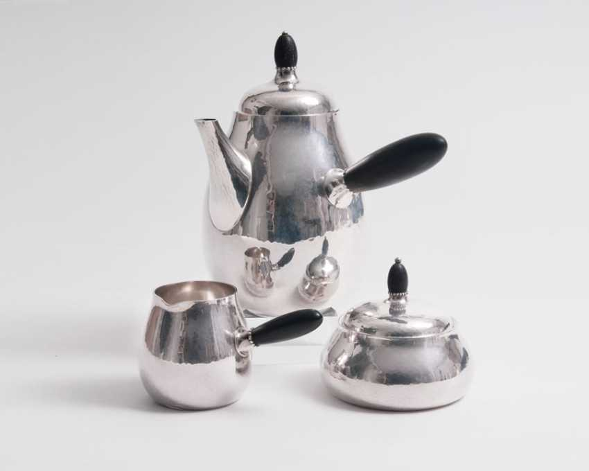 "Georg Jensen ""Art Deco Coffee Service, Nr 80 A"" - photo 1"