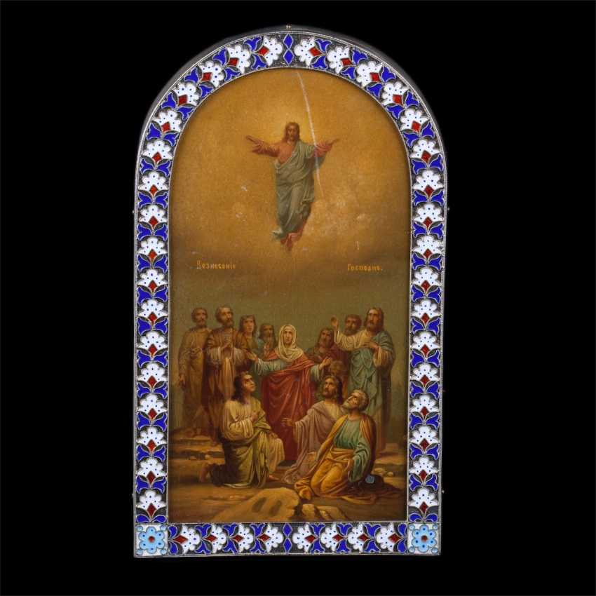 The icon of the ascension in an academic manner - photo 1