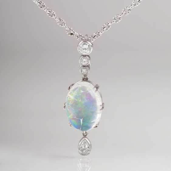 """Diamond pendant with chain"" - photo 1"