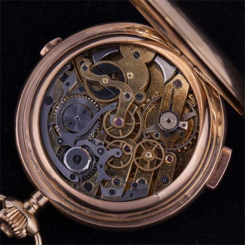 Trehkostochny quarter repeater with chronograph