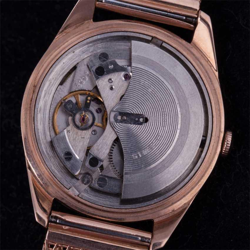 Mens gold 583 wrist watch