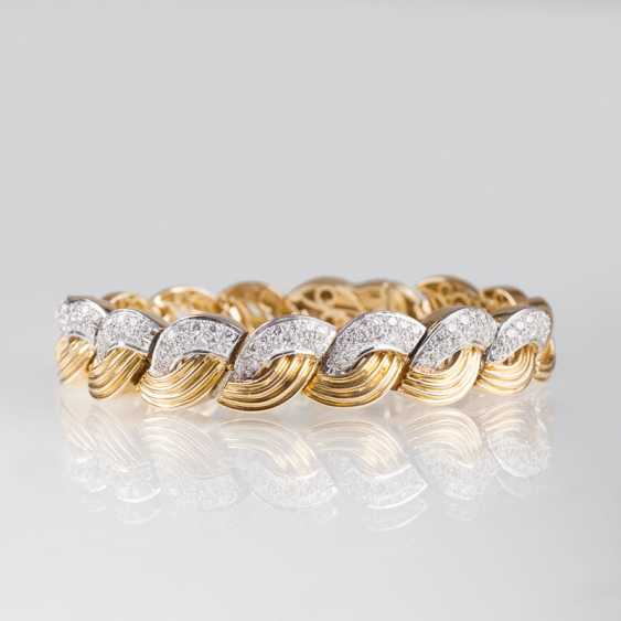 """""""High-quality Gold-diamond-jewelry with necklace and bracelet"""" - photo 3"""