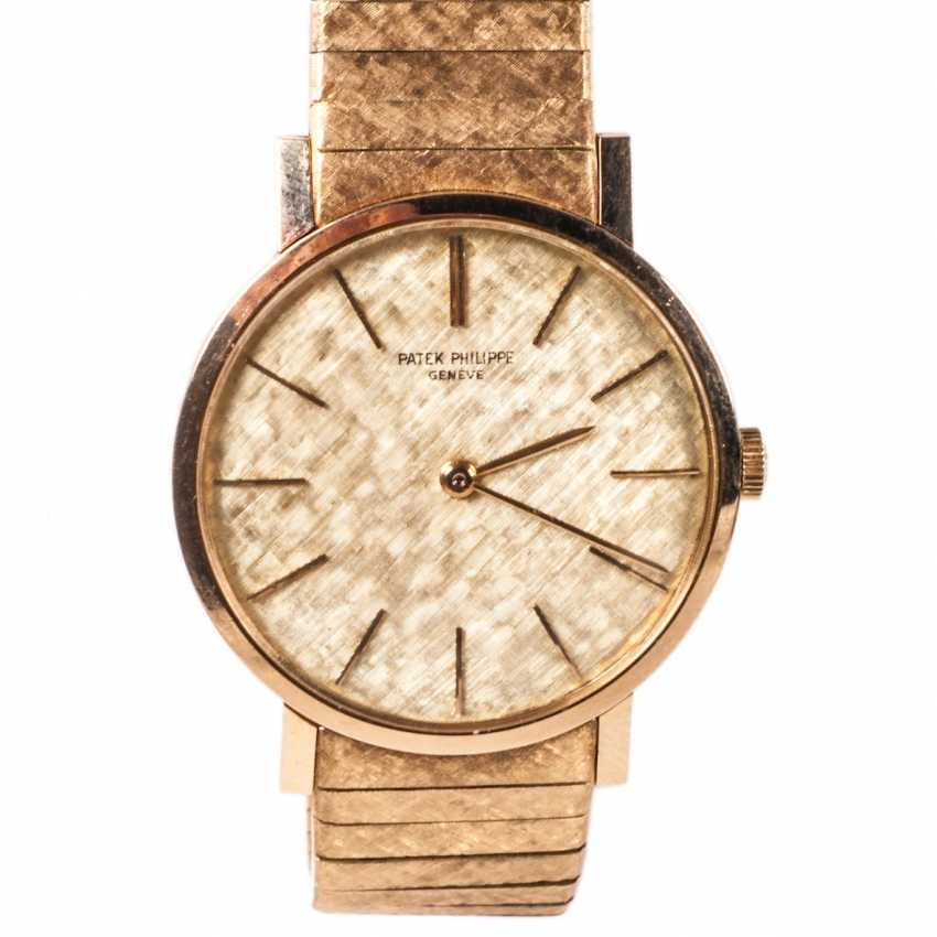 Gold watches PATEK PHILIPPE gold strap - photo 1