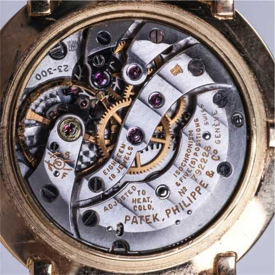 Gold watches PATEK PHILIPPE gold strap - photo 5