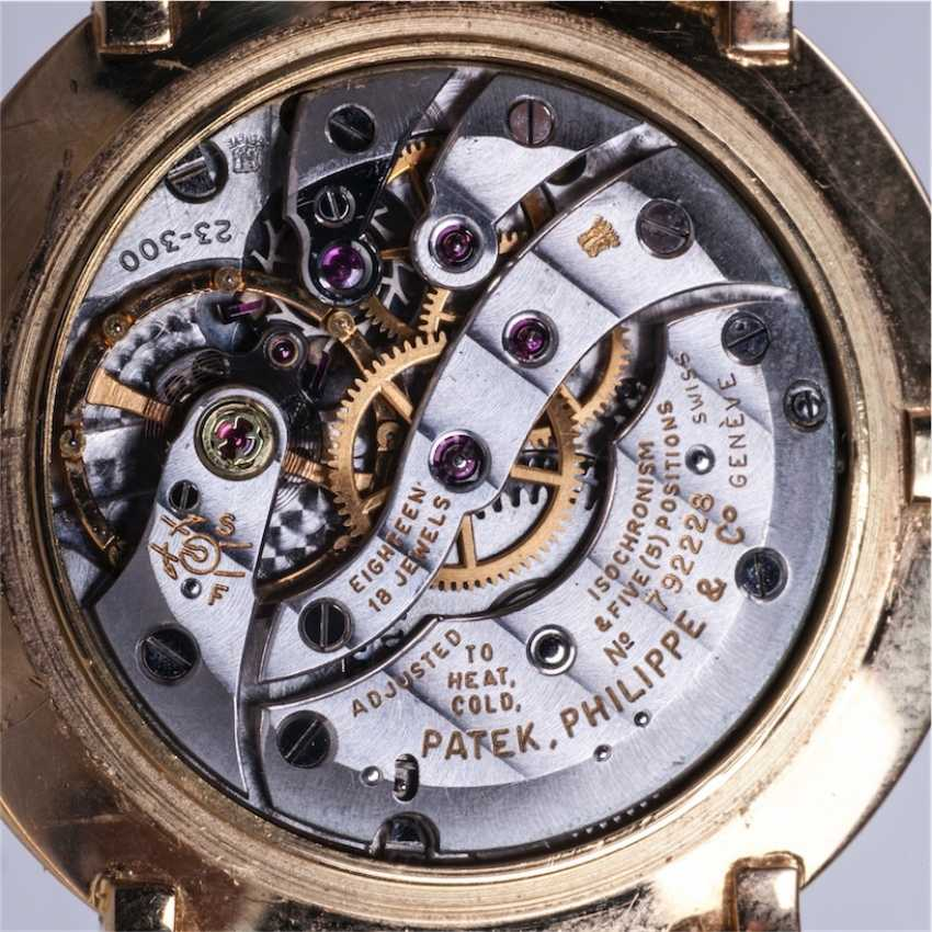 Gold watches PATEK PHILIPPE gold strap