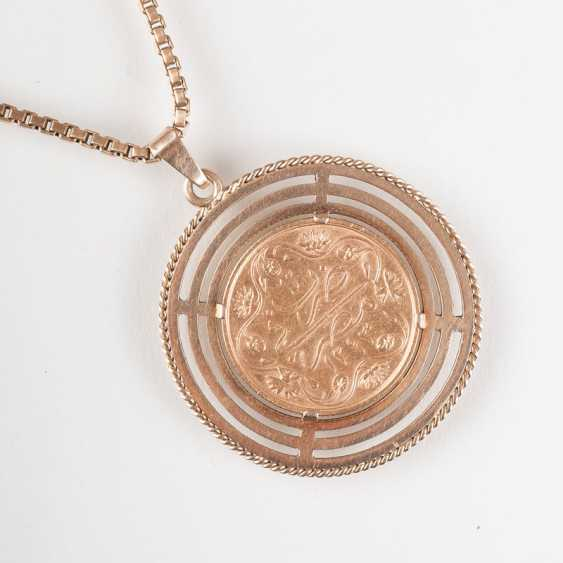 """Coin pendant on a long chain"" - photo 1"
