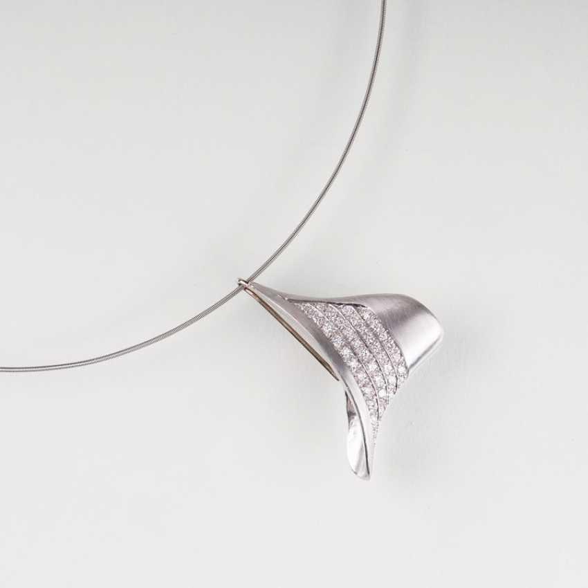 """Platinum jewelry Set with Niessing Circlet of Ehinger-Schwarz"" - photo 4"
