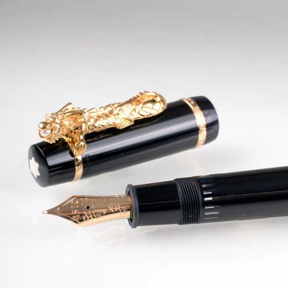 """Exclusive Montblanc piston fountain pen 'Year of the Golden Dragon""' - photo 2"
