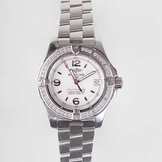 "Breitling ""ladies watch Colt Oceane II', with brilliant trim"" - photo 1"