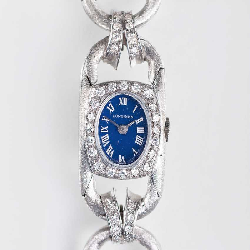 "Longines ""Vintage ladies wrist watch with diamonds"" - photo 1"