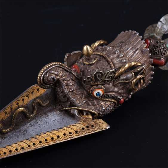 The phurba. Kila ritual dagger or stake - photo 5