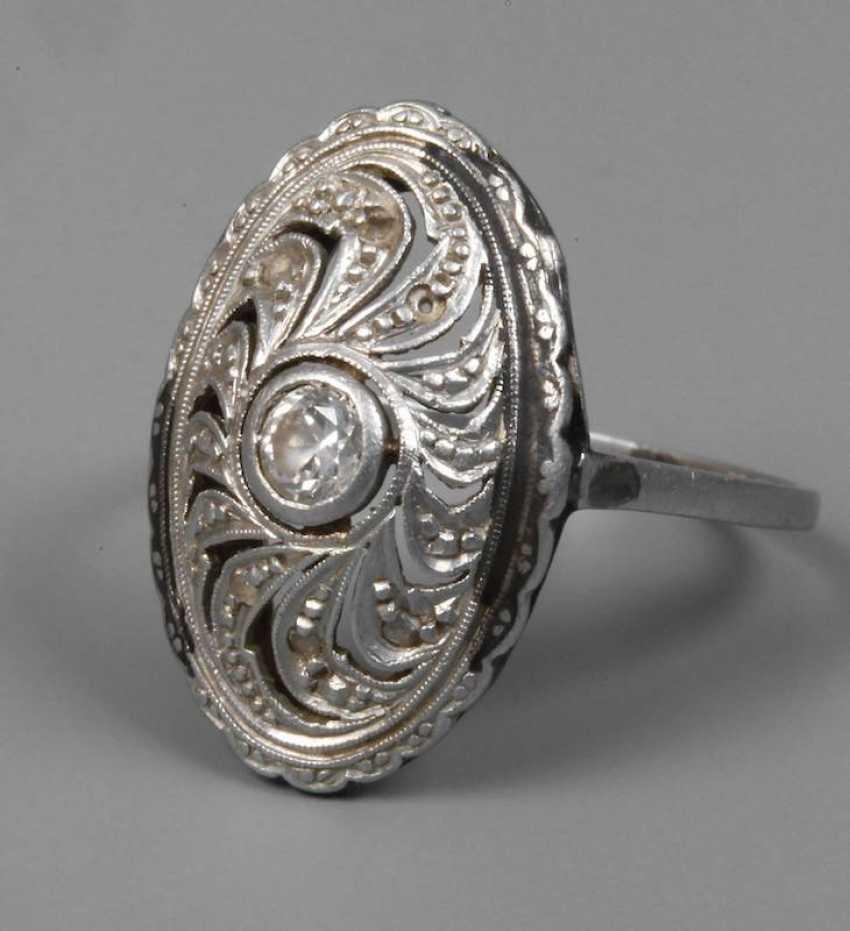 c737289191b5 Лот 2224. Платина кольцо с бриллиантом из каталога «9218 искусства и ...