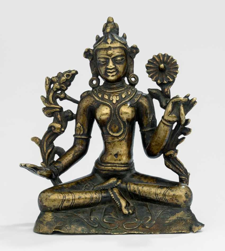Rare Bronze of Tara - photo 1
