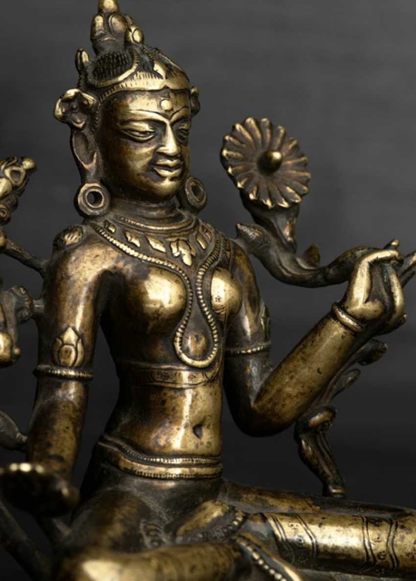 Rare Bronze of Tara - photo 3