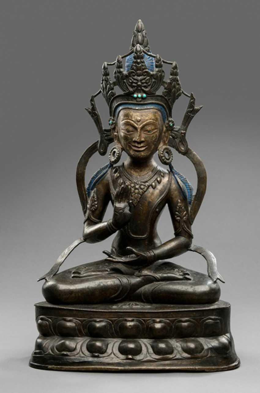 Large Bronze of the Amoghasiddi - photo 1