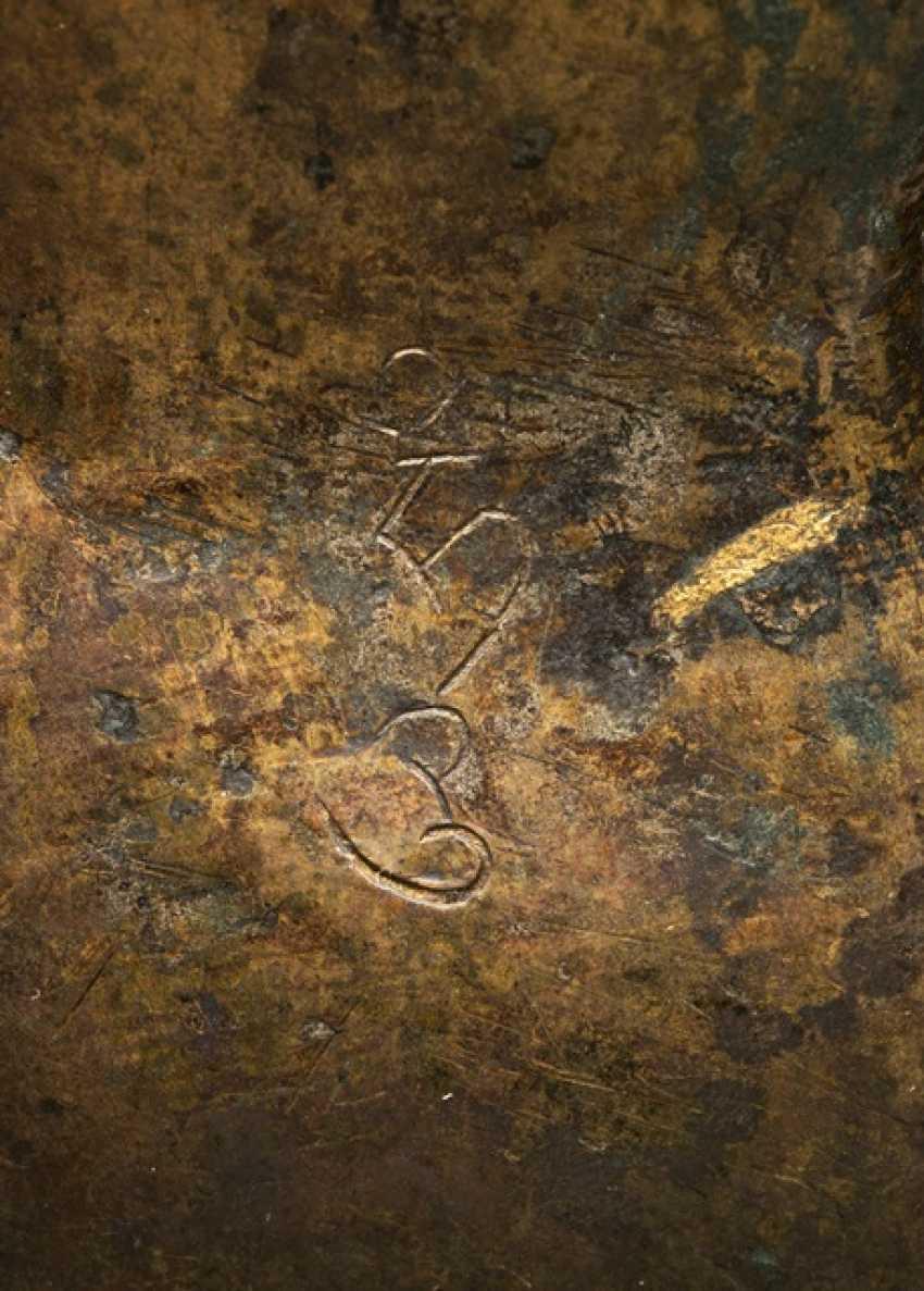 Large Bronze of the Amoghasiddi - photo 3