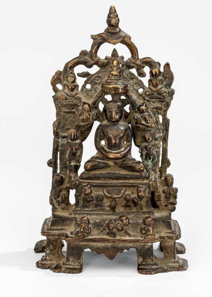 Bronze des Jain Tirthankara - photo 1
