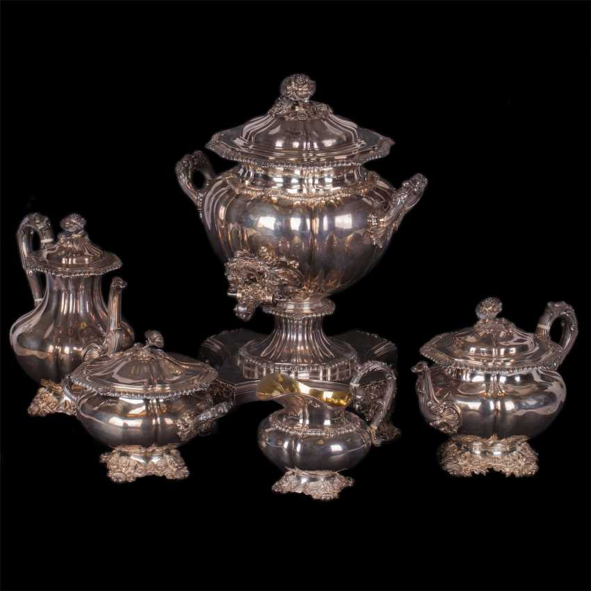 Silver set of 5 items - photo 1