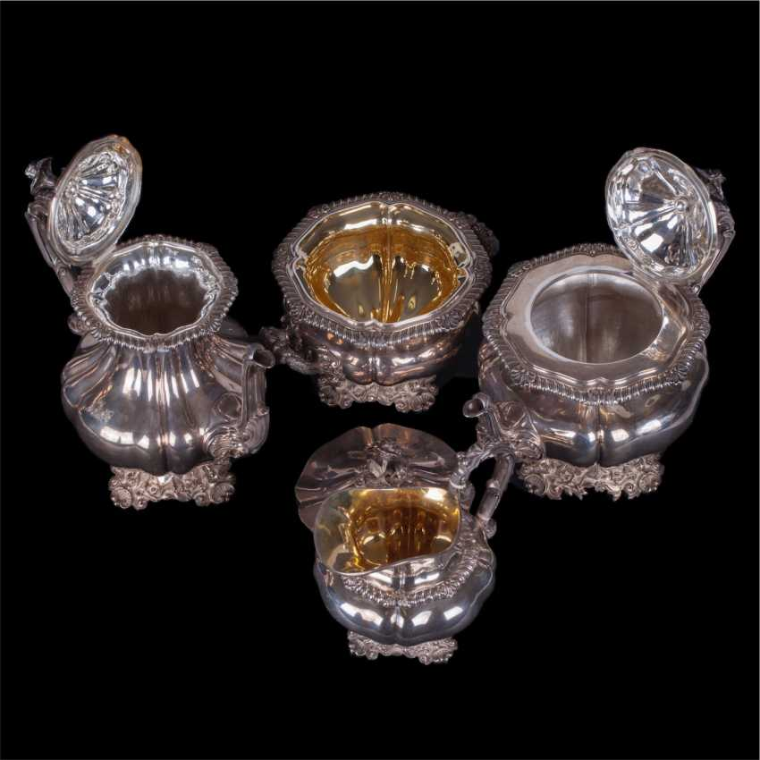 Silver set of 5 items