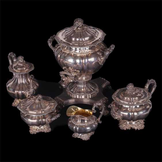 Silver set of 5 items - photo 4