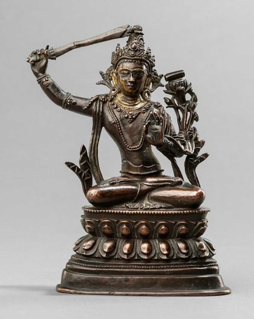 Bronze des Manjushri - photo 1