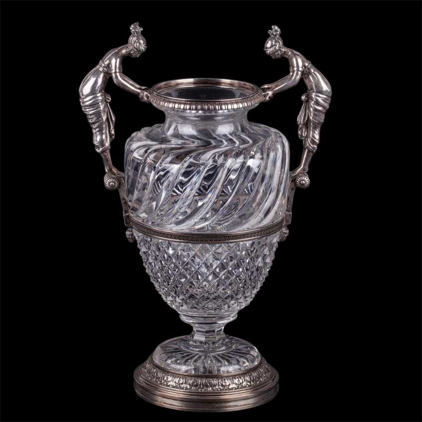 The amphora. Faberge neoclassical style. Master Of Yalmar, Armfeldt - photo 1