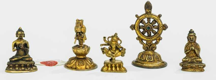 Four bronzes and an Emblem - photo 1