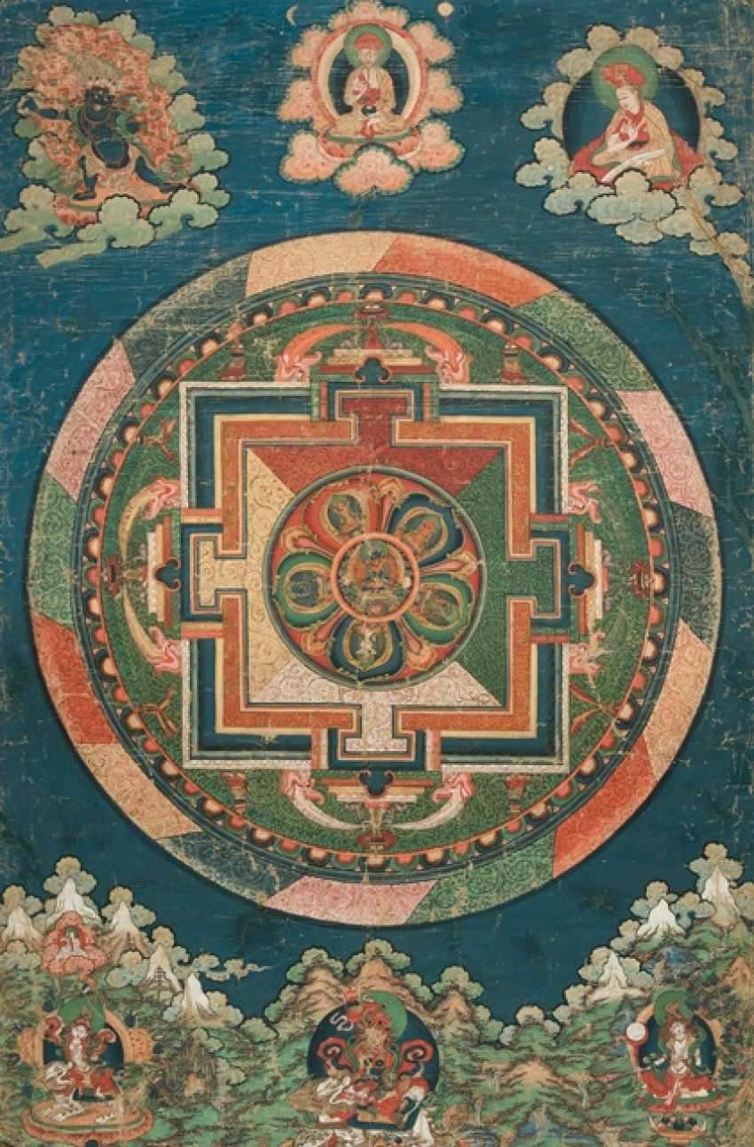Large Mandala of Adibuddha Vajradhara and the Five Tathagatas - photo 1