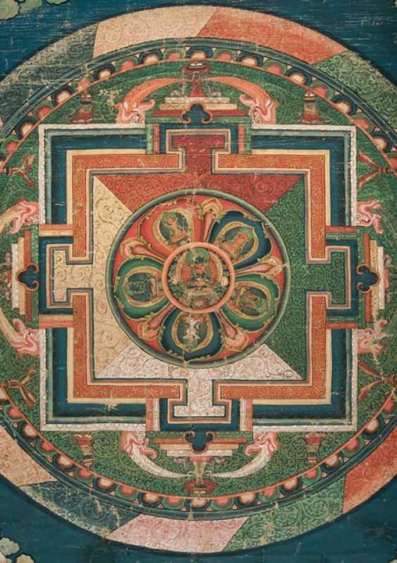 Large Mandala of Adibuddha Vajradhara and the Five Tathagatas - photo 2