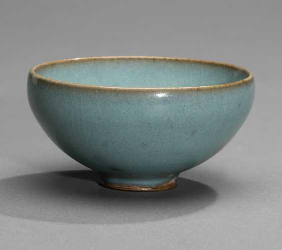 Fine Junyao bowl with lavender glaze - photo 1