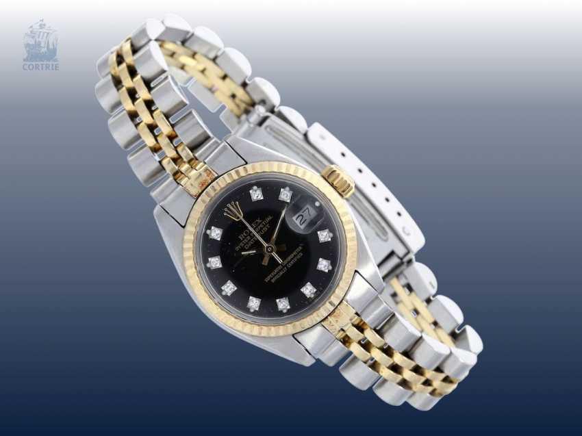 Los 5117. Armbanduhr: luxuriöse vintage Damenuhr von Rolex