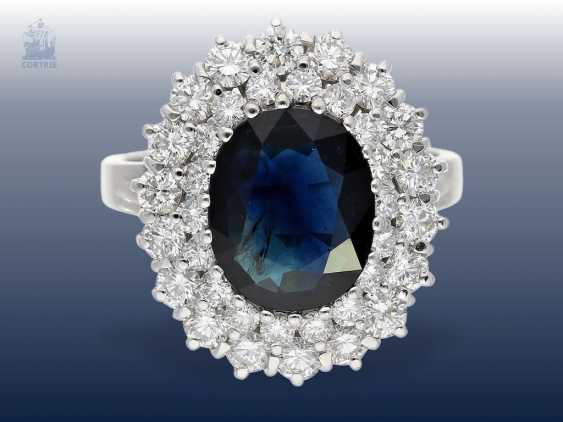 Ring Very Beautiful Formerly Very Expensive Sapphire Brilliant
