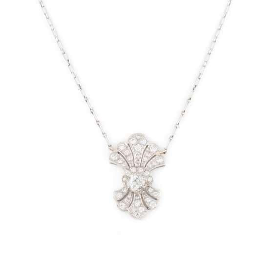HISTORISCHES DIAMOND-NECKLACE - photo 1