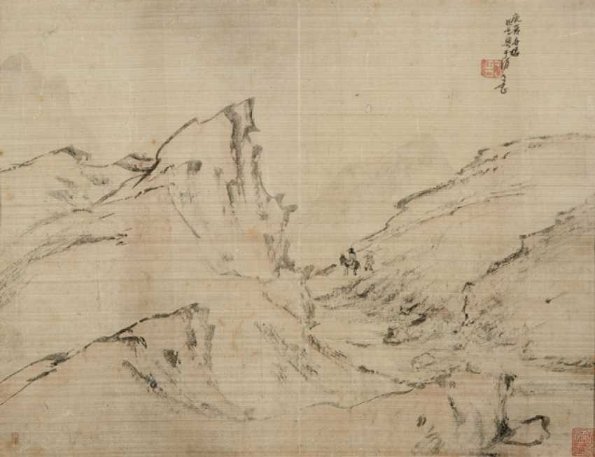 Few landscape images of Liang Yuwei (approx. 1844-1917) - photo 1