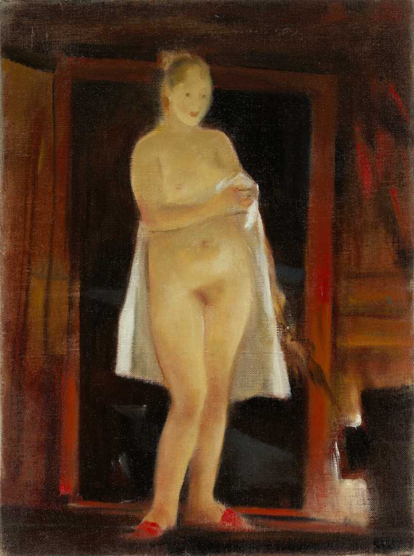 Standing Nude, signed and dated 1996 on the reverse. - photo 1