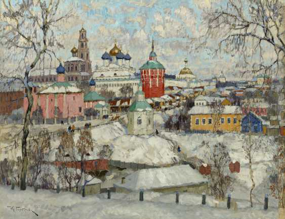 Trinity Lavra of St Sergius in Winter, signed and dated 1923. - photo 1