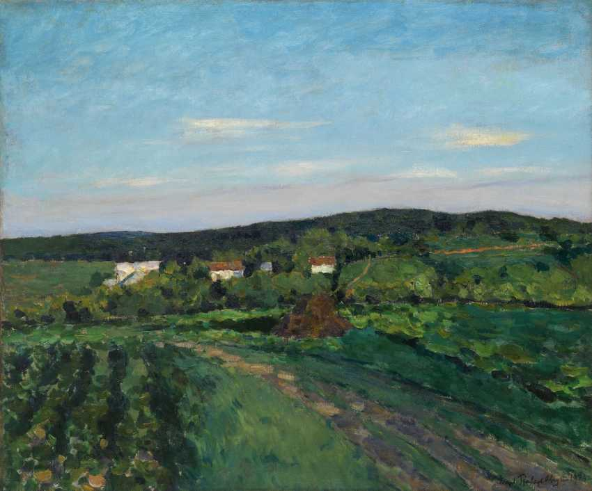 """A Summer's Evening, Signed and dated """"Avgust 1923"""". - photo 1"""