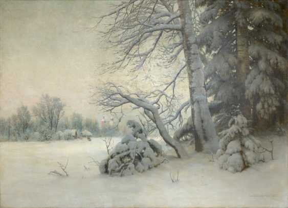 Winter Morning, signed and dated 1901. - photo 1