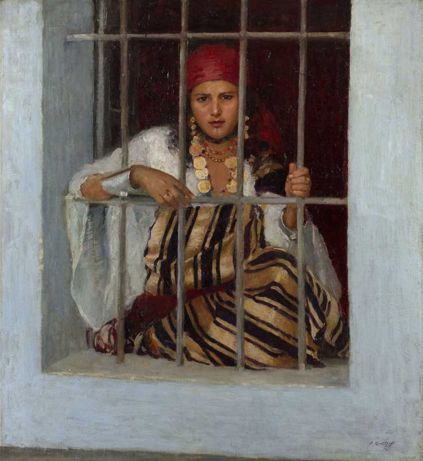 Gipsy Girl, signed and dated 1916. - photo 1