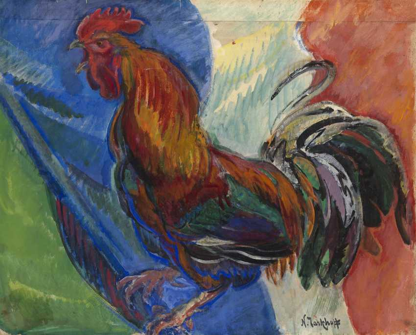 Coq en courroux, stamped with the artist's signature. - photo 1