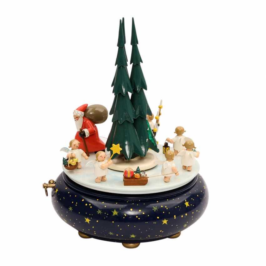 Wendt Und Kühn Tannenbaum.Los 39 Wendt Kühn Spieluhr Weihnachtszug 1990er Jahre Aus Dem