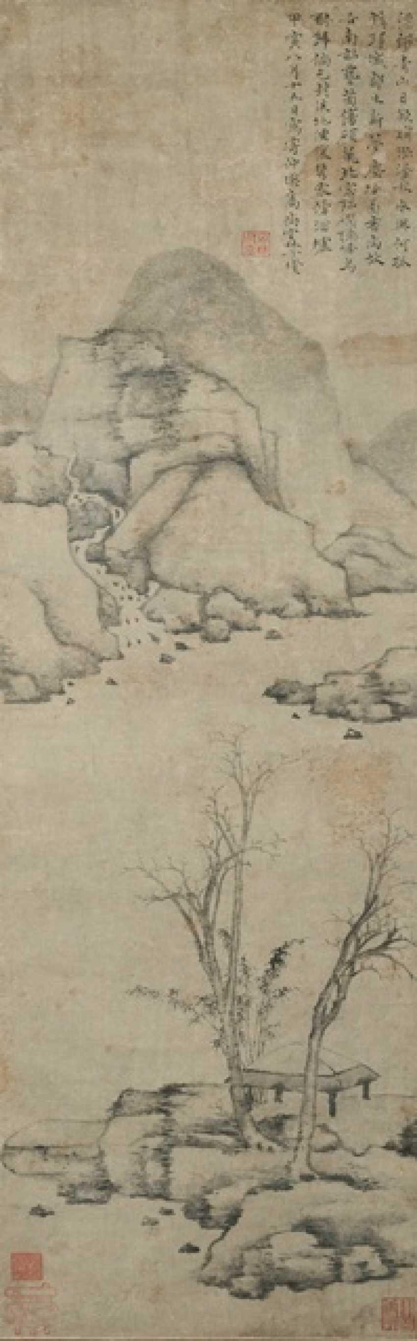In the style of Ni Zan (1301 1374) - photo 1