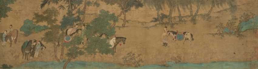 In the style of Qiu Ying (CA. 1494 - approximately 1552) - photo 2