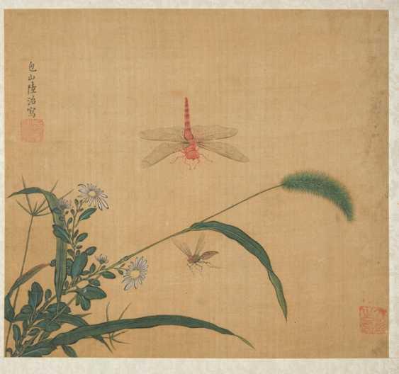 Four paintings in the style of Tang Yin Lu Zhi, Gou long Huang and Zhang Chun - photo 4