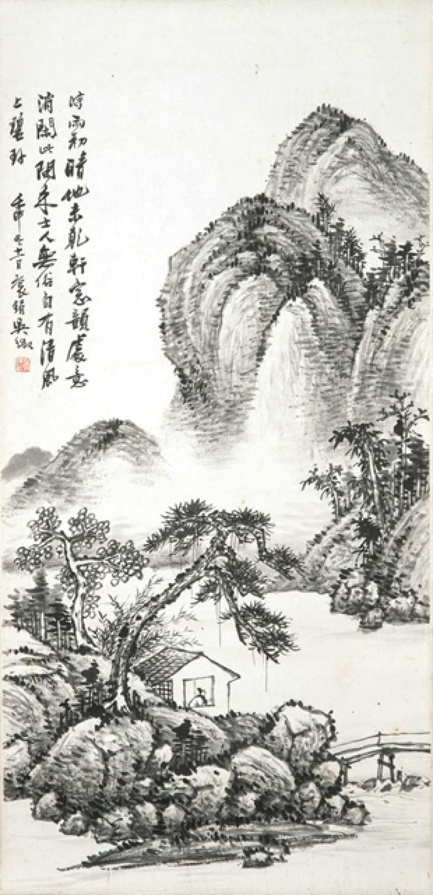 In the style of Wu Zheng (1878-1949) - photo 1