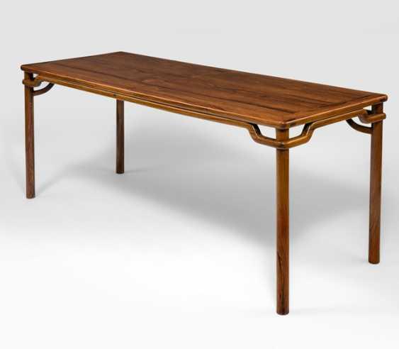Rare big painting table made of hard wood - photo 1