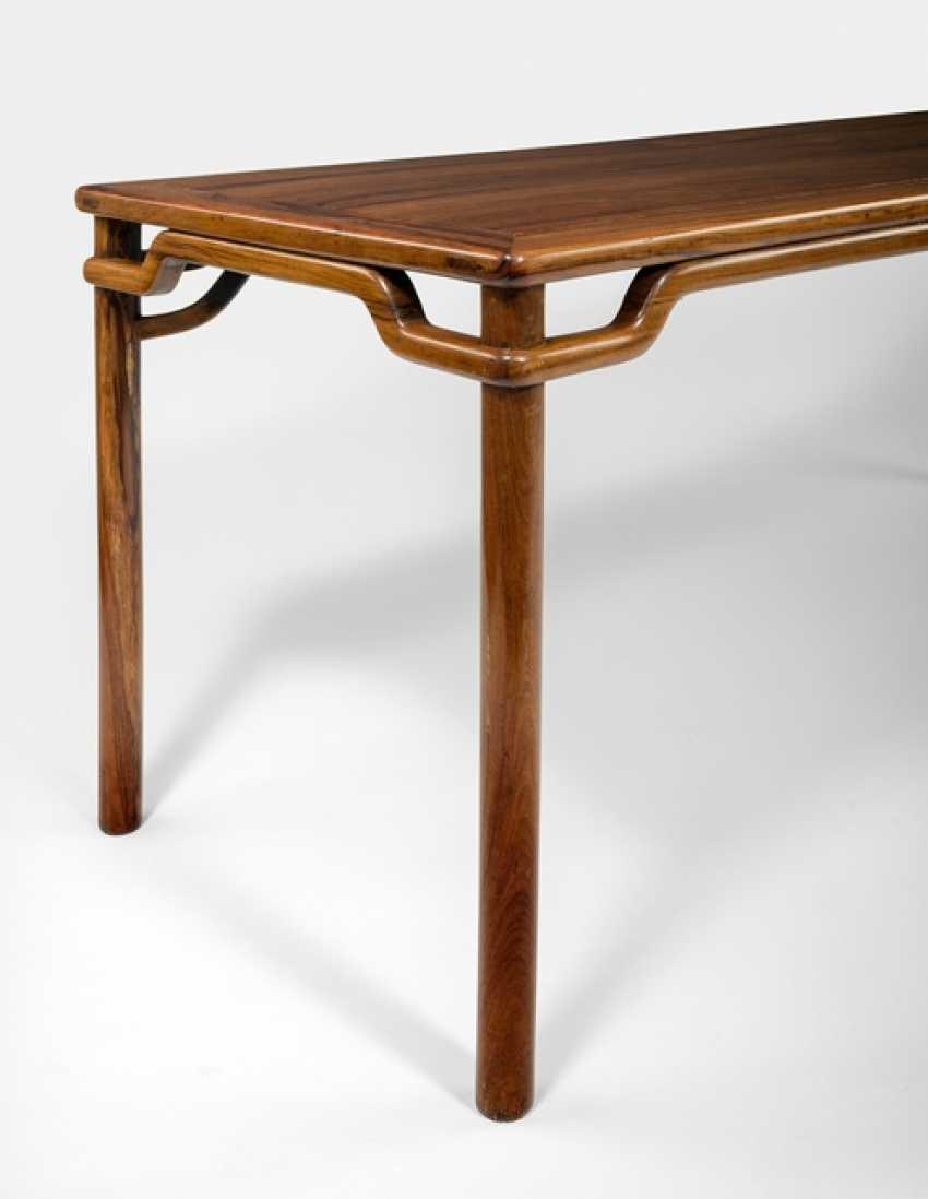 Rare big painting table made of hard wood - photo 5