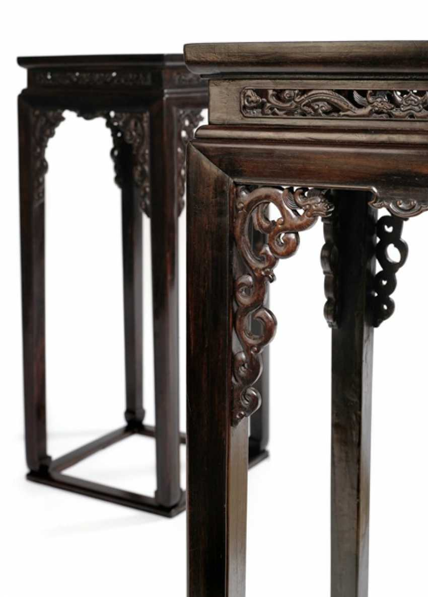 Some of the fine stands of hardwood with dragon decoration - photo 4